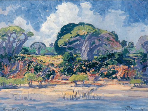 HENK PIERNEEF Boabab Trees, Tanga River Mouth
