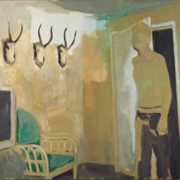kate-gottgens_interior-horns_2016_oil-on-canvas_80-x-78-cm