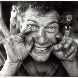 John Berger, 1980, by Jean Mohr